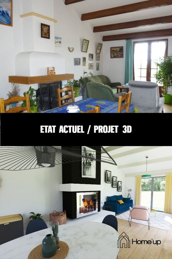 home-staging séjour